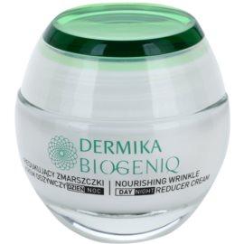 Dermika Biogeniq tápláló ráncok elleni krém érett bőrre  50 ml