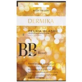 Dermika BB Bright Beauty rozjasňující maska pro omlazení pleti  3 x 2 ml