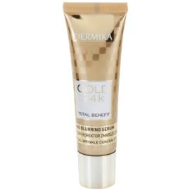 Dermika Gold 24k Total Benefit омолоджуюча сироватка проти ознак старіння  30 мл