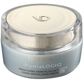 Dermika HydraLOGIQ revitalisierende Tagescreme für normale und trockene Haut 30+  50 ml