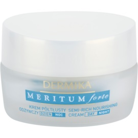 Dermika Meritum Forte Nourishing Cream for Dry and Sensitive Skin  50 ml