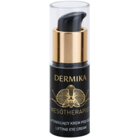 Dermika Mesotherapist Lifting Eye Cream For Mature Skin (With New Generation Hyaluronic Acid and Black Orchid) 15 ml