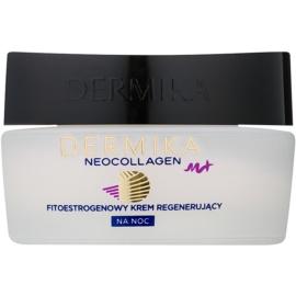 Dermika Neocollagen M+ fitoestrogenowy krem regenerujący na noc  50 ml