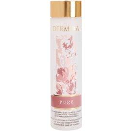 Dermika Pure agua micelar para pieles mixtas y grasas  200 ml