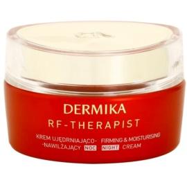 Dermika RF - Therapist festigende Nachtcreme mit feuchtigkeitsspendender Wirkung  50 ml