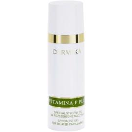 Dermika Vitamina P Plus gelové sérum na rozšířené cévky  30 ml
