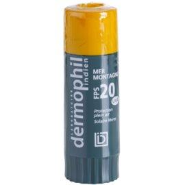 Dermophil Sun zaščitni balzam za ustnice SPF 20  4 g