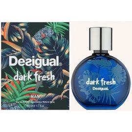 Desigual Dark Fresh Eau de Toilette für Herren 50 ml