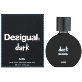 Desigual Dark toaletní voda pro muže 50 ml