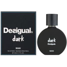 Desigual Dark eau de toilette férfiaknak 50 ml