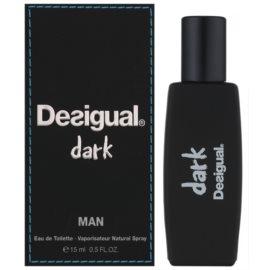 Desigual Dark eau de toilette férfiaknak 15 ml