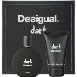 Desigual Dark подаръчен комплект I.  парфюмна вода 100 ml + балсам след бръснене 100 ml