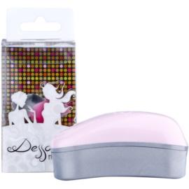 Dessata Original Mini szczotka do włosów Pink - Silver