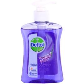 Dettol Antibacterial hydratačné antibakteriálne mydlo Grape & Lavender Extracts 250 ml