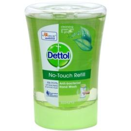 Dettol Antibacterial antibakteriális szappan utántöltő zöld tea és gyömbér  250 ml