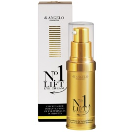 Di Angelo Cosmetics No1 Lift Eye Cream For Instant Smoothing Of Wrinkles  15 ml