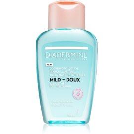 Diadermine Essentials osvežilni odstranjevalec ličil za oči za vse tipe kože  125 ml