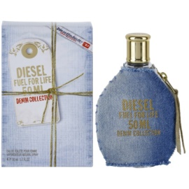 Diesel Fuel for Life Femme Denim toaletní voda pro ženy 50 ml