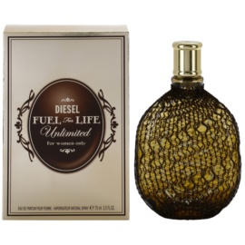 Diesel Fuel for Life Femme Unlimited Eau De Parfum pentru femei 75 ml