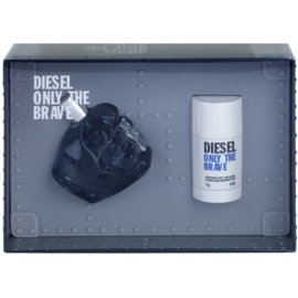 Diesel Only The Brave lote de regalo VIII.  eau de toilette 125 ml + deo barra 75 ml