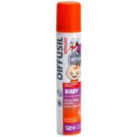Diffusil Repellent Baby sprej odpudzujúci komáre a kliešte  100 ml