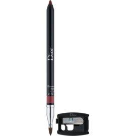 Dior Contour creion contur pentru buze  cu ascutitoare culoare 882 Pink Sky 1,2 g
