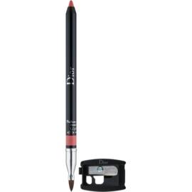 Dior Contour lápis de lábios com apontador tom 136 Delicate Matte 1,2 g