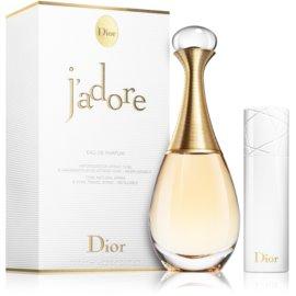 Dior J'adore Gift Set XV.  Eau De Parfum 75 ml + Eau De Parfum Refillable 10 ml