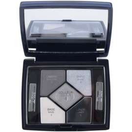 Dior 5 Couleurs Designer paleta profesionálních očních stínů odstín 008 Smoky Design 4,4 g