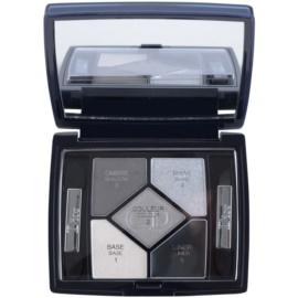 Dior 5 Couleurs Designer палетка професійних тіней для очей відтінок 008 Smoky Design 4,4 гр