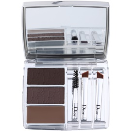 Dior All In Brow 3D kit para unas cejas perfectas  tono 001 Brown  7,5 g