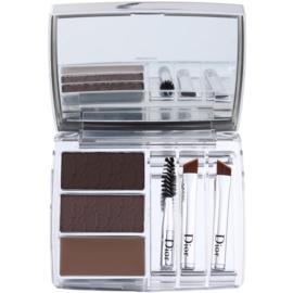 Dior All In Brow 3D Set voor Perfecte Wenkbrauwen  Tint  001 Brown  7,5 gr