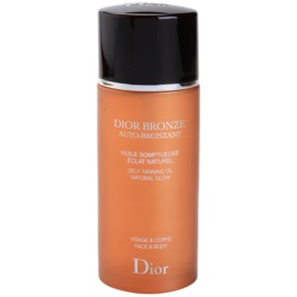Dior Dior Bronze Auto-Bronzant автобронзиращо масло за лице и тяло  100 мл.