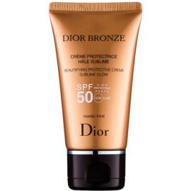 Dior Dior Bronze rozjasňující ochranný krém na opalovaní SPF 50  50 ml
