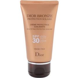 Dior Dior Bronze Protection Solaire opalovací krém na obličej SPF 30  50 ml