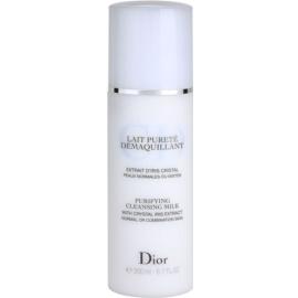 Dior Cleansers & Toners tisztító tej normál és kombinált bőrre  200 ml