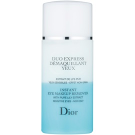 Dior Cleansers & Toners doua componente demachiant pentru ochi pentru piele sensibila   125 ml