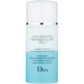 Dior Cleansers & Toners Zwei-Komponenten Make-up Entferner für die Augen für empfindliche Haut  125 ml