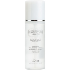 Dior Cleansers & Toners odličovací micelární voda pro všechny typy pleti  200 ml