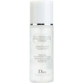 Dior Cleansers & Toners odličovacia micelárna voda pre všetky typy pleti  200 ml