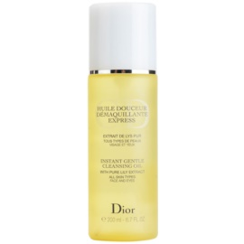Dior Cleansers & Toners Abschminköl für alle Hauttypen  200 ml