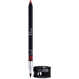 Dior Contour lápis de lábios com apontador tom 080 Red Smile 1,2 g