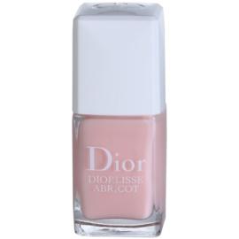 Dior Diorlisse Abricot укрепващ лак за нокти цвят 500 Pink Petal  10 мл.