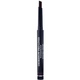 Dior Diorshow Pro Liner eyeliner rezistent la apa culoare 772 Pro Mahogany 0,30 g
