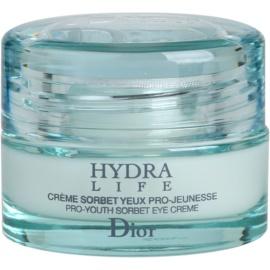 Dior Hydra Life hydratisierende Augencreme  15 ml