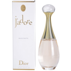 Dior J'adore Eau de Toilette Eau de Toilette voor Vrouwen  75 ml