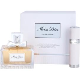 Dior Miss Dior 2012 dárková sada  parfémovaná voda 100 ml + parfémovaná voda plnitelná 7,5 ml
