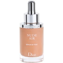 Dior Diorskin Nude Air  ser fluidizant pentru tonifiere pentru sanatate culoare 033 Beige Abricot/Apricot Beige SPF 25 30 ml