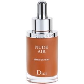 Dior Diorskin Nude Air  fluidni tonirani serum za zdrav videz odtenek 050 Beige Foncé/Dark Beige SPF 25 30 ml