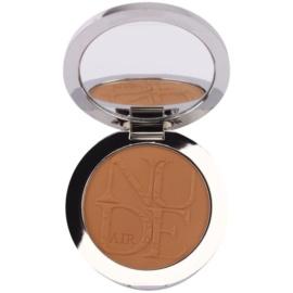 Dior Diorskin Nude Air Tan Powder компактна пудра-бронзантор зі щіточкою відтінок 002 Ambre/Amber 10 гр
